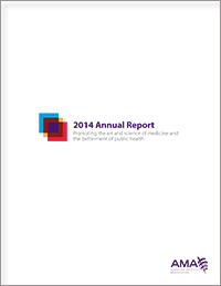 2014 AMA Annual Report