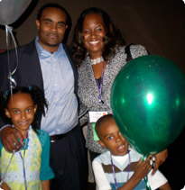 La Shawna Clark and family