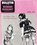 Bulletin Women's Auxiliary 1965