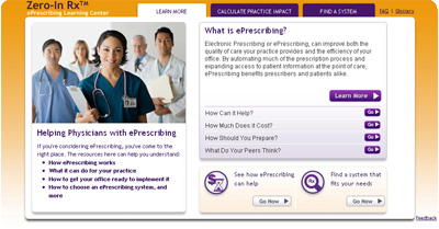 Zero-In RX - ePrescribing Learning Center