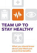 Team Up to Stay Healthy brochure