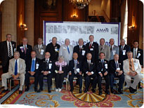 The AMA honors physician members celebrating their 50-year anniversary from medical school at the SPG Luncheon.
