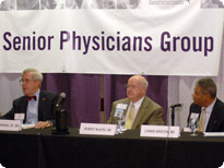 AMA Former Presidents are keynote speakers for the SPG Caucus: Daniel Johnson, Jr., MD; Robert McAfee, MD; and Lonnie Bristow, MD