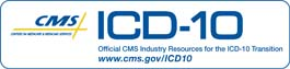 ICD-10 Logo from CMS