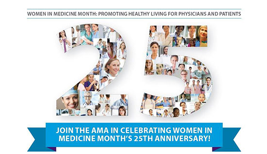 elebrate Women in Medicine Month in September